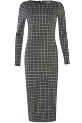 Alice And You Long Sleeve Knitted Dress Grey