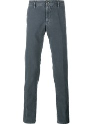 Incotex Denim Trousers Grey
