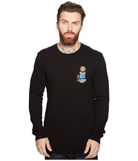 Rip Curl The Search Heritage Long Sleeve Black Men's Long Sleeve Pullover
