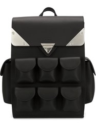 Valas Mini 'Voyager' Backpack Black