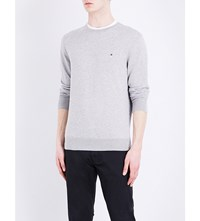 Tommy Hilfiger Crewneck Knitted Jumper Cloud Htr