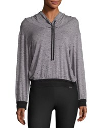Koral Arch Athletic Pullover Hoodie Gray