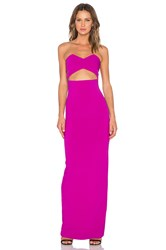 Solace London Goldie Maxi Dress Fuchsia