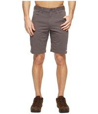 Mountain Khakis Commuter Shorts Slim Fit Slate Men's Shorts Metallic