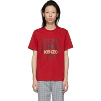 Kenzo Red Tiger T Shirt