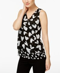 Inc International Concepts Embellished Tiered Top Only At Macy's Dancing Hearts