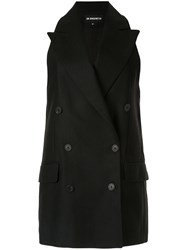 Ann Demeulemeester Boxy Fit Double Breasted Blazer 60