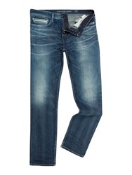 Calvin Klein Slim Fit Straight Jean Blue