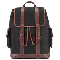 John Lewis And Co. Waxed Canvas Backpack Navy