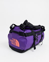 The North Face Base Camp Extra Small Duffel In Purple