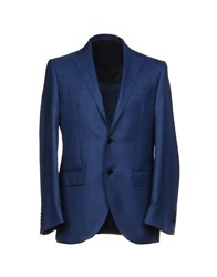 Lubiam Suits And Jackets Blazers Blue