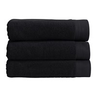 Christy Luxe Towel Black
