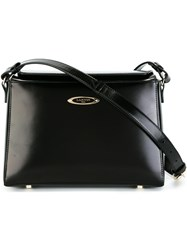 Lanvin Angular Shoulder Bag Black