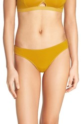 Madewell Women's Jersey Thong Mystic Yellow