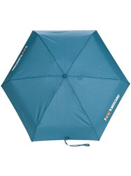 Moschino 100 Umbrella Blue