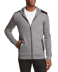 Hugo Dellagio Hooded Sweatshirt Gray