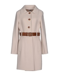 Philosophy Di Alberta Ferretti Full Length Jackets Sand