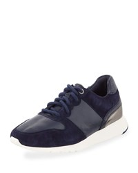 Cole Haan Grand Crosscourt Wedge Sneakers Marine Blue