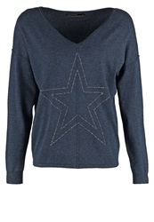 Soyaconcept Dollie Jumper Midnight Blue Melange
