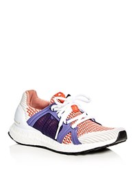 Adidas By Stella Mccartney Ultra Boost Lace Up Sneakers Bright Red
