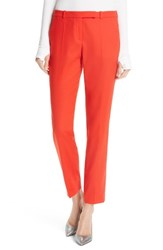 Hugo Harile Ponte Ankle Trousers Lava Red