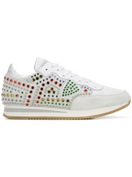 Philippe Model Tropez Low Top Trainers White