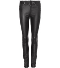 Helmut Lang Leather Trousers Black