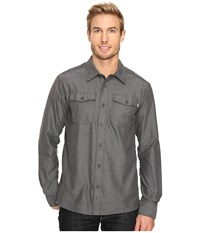 Outdoor Research Gastown Long Sleeve Shirt Charcoal Men's Clothing Gray