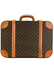 Louis Vuitton Vintage Monogram Holdall Brown