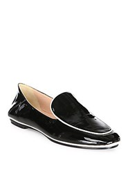 Derek Lam Taylor Patent Leather Loafers Black