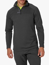 Helly Hansen Hp Half Zip Jumper Ebony