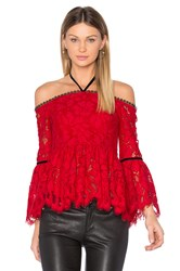 Alexis Grace Top Red