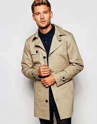 Selected Homme Trench Coat Beige
