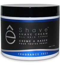 Eshave Fragrance Free Shaving Cream 120G
