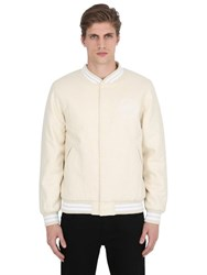 Stussy Stoke Wool And Nylon Varsity Jacket