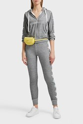 Wildfox Couture Starlight Cotton Blend Jogging Trousers Grey