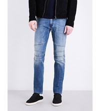 Belstaff Westham Slim Fit Low Rise Jeans Dusty Indigo