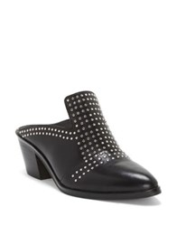 1.State Lon Leather Mules Black