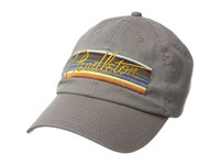 Pendleton Olympic Park Stripe Embroidered Cap Grey Caps Gray