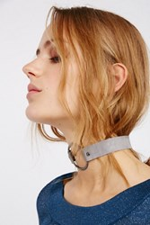 Free People Womens Pave Ring Suede Choker