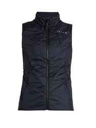 Falke Lightweight Water Resistant Performance Gilet Navy