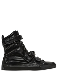 Giacomorelli Leather High Top Sneakers Black