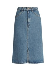 Mih Jeans Parra Denim Skirt