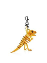 Coach Lucite Rexy Bag Charm Clementine Yellow