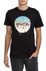 Rvca Men's Sage Motors Graphic T Shirt