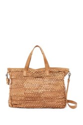 Day And Mood Jamie Leather Weekend Bag Brown