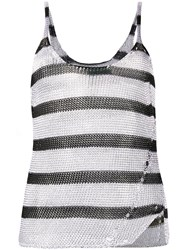 Zadig And Voltaire Joss Stripes Tank Top 60