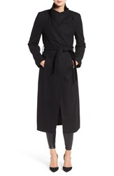 Kenneth Cole Women's New York Wool Blend Maxi Wrap Coat