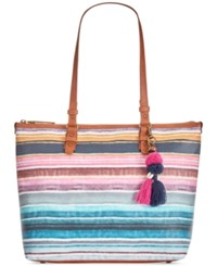 The Sak Pacifica Tote A Macy's Exclusive Style Sunset Stripe