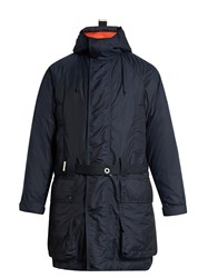Etudes Resistance Hooded Down Parka Navy